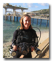 Kirsty Faulkner - Leak Detector saved her camera